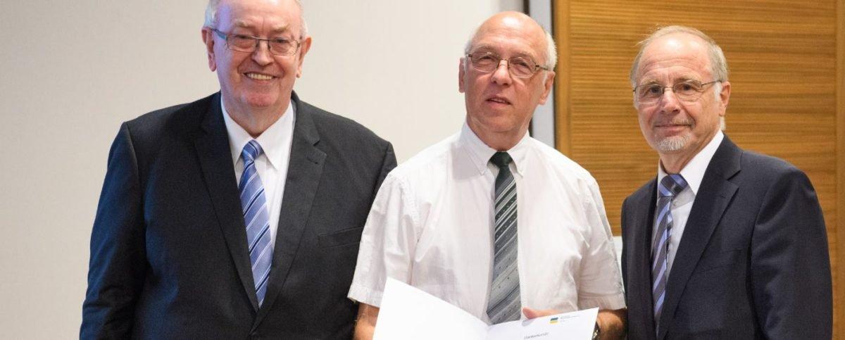 Langjährige Versichertenberater wurden geehrt
